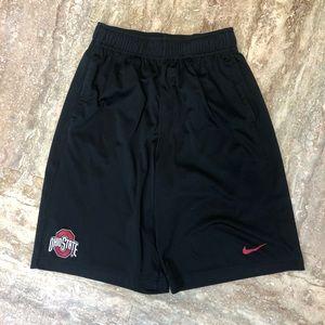 5/$20 NIKE boys dri-fit OHIO STATE shorts